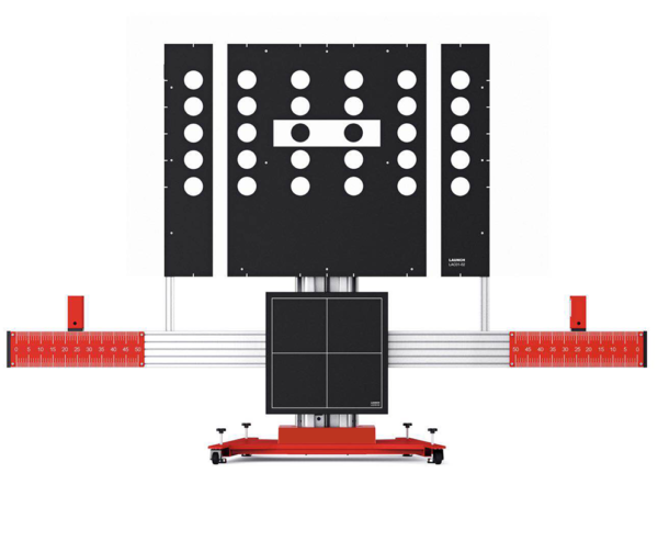 Image of Red Analogue ADAS Equipment